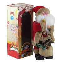 Новогодняя фигура Санта музыка+движение h30см Pioner 92236-PN DOTINEM