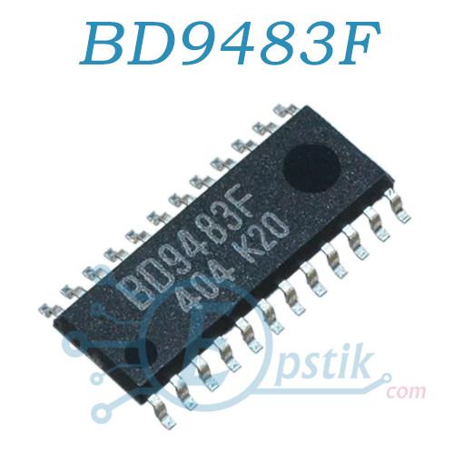 BD9483F, інвертор підсвічування LCD, SOP24
