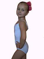 Купальник гимнастический детский Rivage Line белый BM2273B