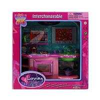 Мебель для кукол 2906  кухня