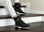 Женские зимние дутики Adidas (черно-белые), фото 4