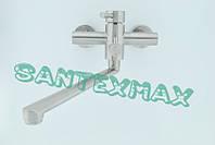 Смеситель для ванны и душа Mixxus Sus 006 euro из нержавеющей стали