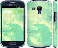 """Чехол на Samsung Galaxy S3 mini Зеленые волны """"2696c-31"""""""