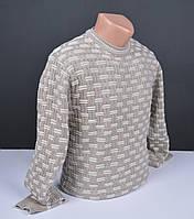 Мужской джемпер бежевый   Мужской свитер Турция 013