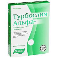 Турбослим® Альфа-липоевая кислота и L-карнитин БАД, № 20 табл. х 0,55 г, блистер