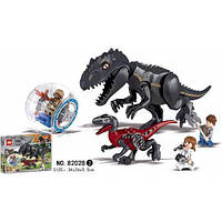 Конструктор 82028 Охота (аналог Lego Jurassic World)
