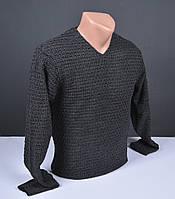 Мужской пуловер серый | Мужской свитер Турция 021