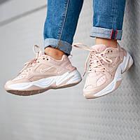 Женские кроссовки Nіke m2k tekno pink ( реплика)