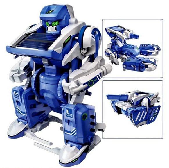 Дитячий конструктор на сонячній батареї Robot Solar 3in1 - конструктори для хлопчиків
