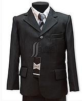 Костюм школьный для мальчика- 3-ка (пиджак+брюки+жилет)