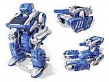 Конструктор на солнечной батарее Robot Solar 3in1 - конструкторы для мальчиков, фото 3