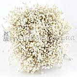 Тычинки для цветов капельки, белые ~100 шт, фото 2