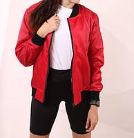 Бомбер женский Quest Wear 20342 красный