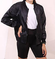 Бомбер женский Quest Wear 20344 черный