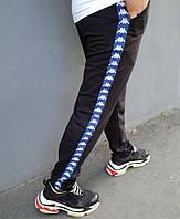 Штаны мужские Kappa 20451 черные, фото 1