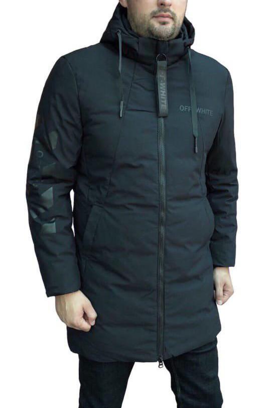 Куртка мужская Off White D8278 черная