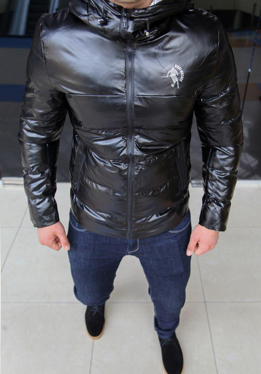 Куртка мужская Bikkembergs H0014 черная