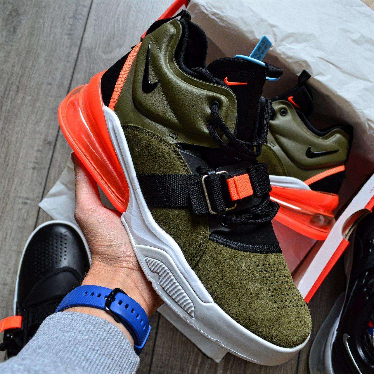 Кроссовки мужские Nike Air Force 270 D8333 Olive