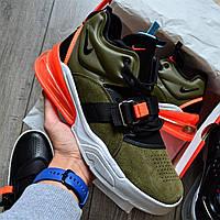 Кроссовки мужские Nike Air Force 270 D8333 Olive, фото 1