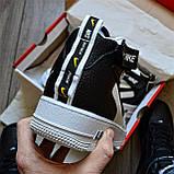 Кросівки чоловічі Nike Air Force 1 07 Mid LV8 D8336 Black & White, фото 4