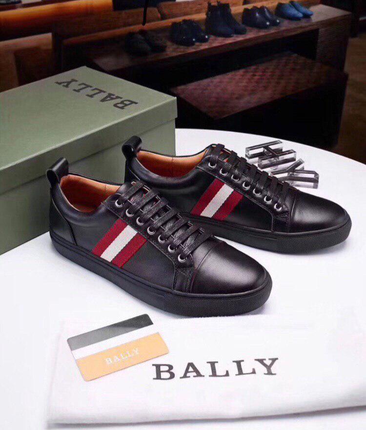 Кроссовки мужские Bally H0009 черные
