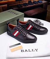 Кроссовки мужские Bally H0009 черные, фото 1
