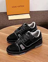Кроссовки мужские Louis Vuitton H0040 черные