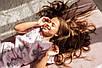 Хлопковая пижама  Eirena Nadine (785-52) для девочки подростка 152/38 розовый, фото 7