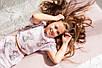 Хлопковая пижама  Eirena Nadine (785-52) для девочки подростка 152/38 розовый, фото 8