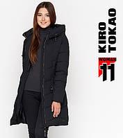 11 Киро Токао   Куртка женская зимняя 806 черная