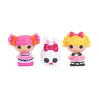 Набор с куклами КРОШКАМИ LALALOOPSY - ФОКУСНИЦА И ЯГОДКА (2 куклы, питомец) (531524)
