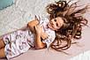 Пижама Eirena Nadine (785-40) Мишки 140/34 розовый, фото 7
