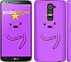 "Чехол на LG G2 Adventure Time. Lumpy Space Princess ""1122c-37"""