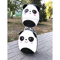 Комплект детский чемодан + рюкзак панда