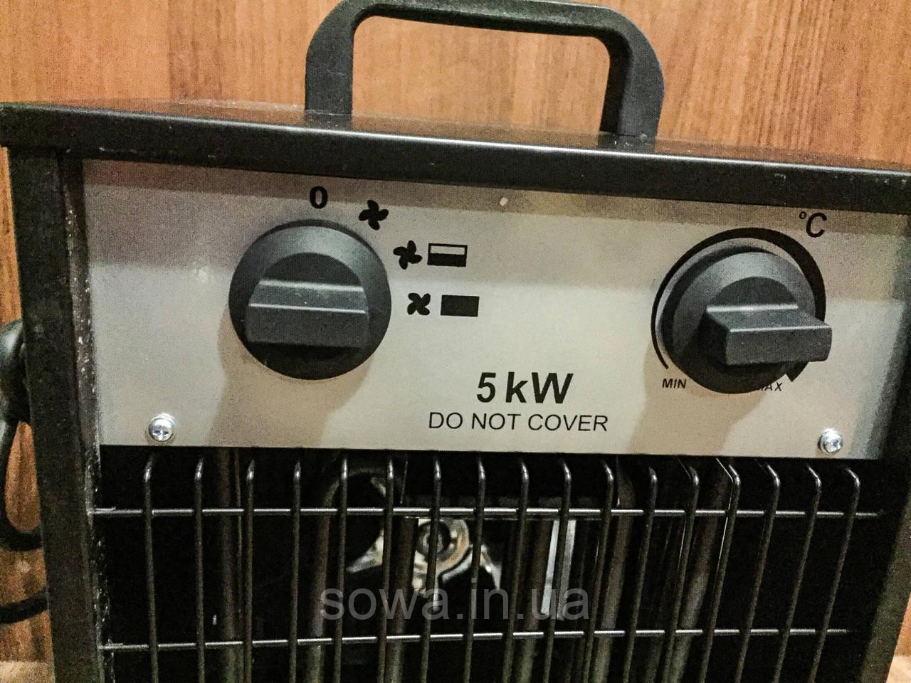 ✔️ Обогреватель  BLACK STORM RM 80402 ( 5000 Вт ) Обігрівач електричний