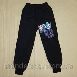 Спортивные штаны на мальчика  ФЛИС! 9-12 лет(рост 128-146)