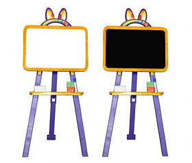 Мольберт для рисования (оранжево-фиолетовый)  scs