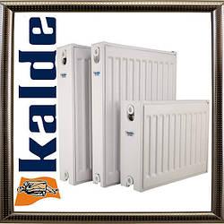 Сталевий панельний радіатор Kalde 22 500х1100 (збоку), бокове підключення,Туреччина,Гарантія - 10 років