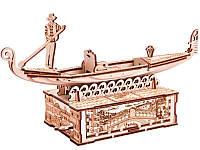 Механические 3D модели Гондола, механический 3D-пазл, Wood Trick