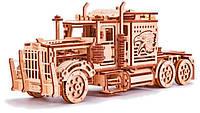 Механический 3D-пазл Тягач, Wood Trick (00015)