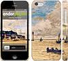 """Чехол на iPhone 5c Маяк и лодки """"166c-23"""""""