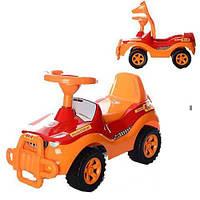 Машинка для катания ДЖИПИК, красный 105_К sct