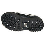 Низкие женские ботинки Steel черно-белые 4 дырки 112/O/B-F.WH, фото 2