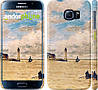 "Чехол на Samsung Galaxy S6 G920 Маяк и лодки ""166c-80"""