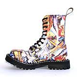 Высокие ботинки Steel с принтом 10 дырок 105/106/O/F.GRF, фото 3