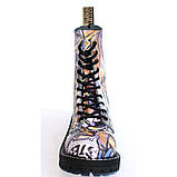 Высокие ботинки Steel с принтом 10 дырок 105/106/O/F.GRF, фото 4