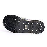 Высокие ботинки Steel с принтом 10 дырок 105/106/O/F.GRF, фото 6
