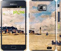 """Чехол на Samsung Galaxy S2 Plus i9105 Маяк и лодки """"166c-71"""""""