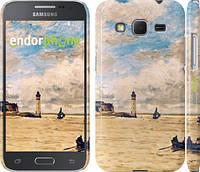 "Чехол на Samsung Galaxy Core Prime G360H Маяк и лодки ""166c-76"""
