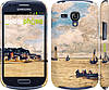 "Чехол на Samsung Galaxy S3 mini Маяк и лодки ""166c-31"""